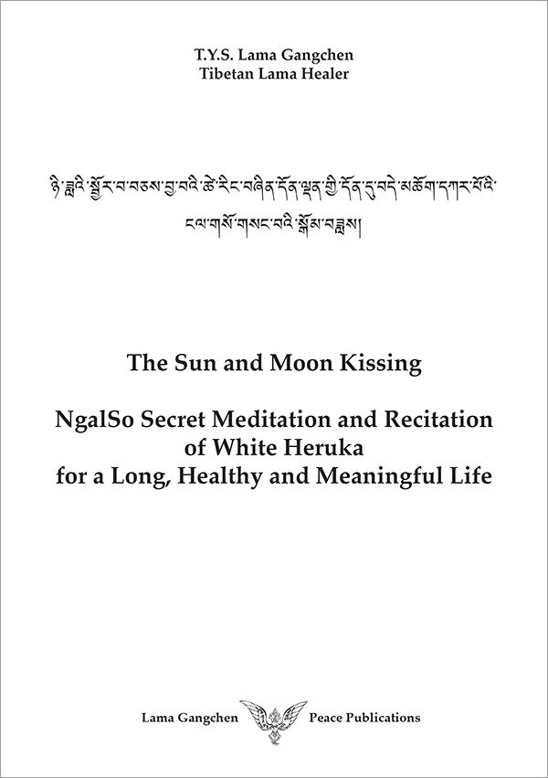 The Sun and Moon Kissing, NgalSo Secret Meditation and